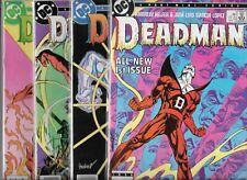 DEADMAN #1-#4 SET (NM-) COPPER AGE DC SERIES