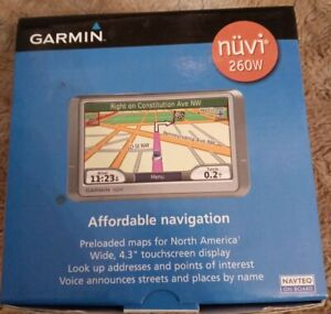 Travis Dokes Shop~ Garmin~ nüvi 260W 4.3 Widescreen~ Portable~ GPS Navigator