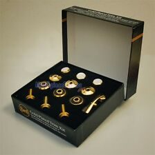 Genuine Bach Stradivarius Gold-Plated Trim Kit - Heavy Bottom Caps NEW!