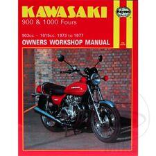 KAWASAKI 900 & 1000 FOURS 1973-1977 Haynes Repair Manual 0222