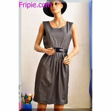 robe classique Phildar grise taille 36 S T1   ref 121627