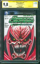 Green Lantern 13 CGC SS 9.8 Ken Haeser Atrocitus Original art Sketch 2012