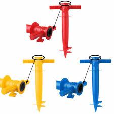 New Plastic Adjustable Beach Umbrella Anchor Stand Spike Auger Holder Nail Beach