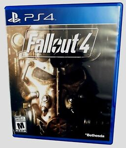 Fallout 4 - (PS4, Playstation 4) - FREE SHIPPING - Excellent Condition