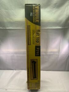 Thule Flat Top 6 pair horizontal Ski Carrier #725, with keys and instructions
