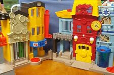 fisher price imaginext rescue city play set
