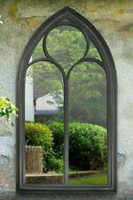 MirrorOutlet GMA007 Chapel Window 112 x 61cm - Black