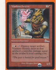 MTG  Urza's Legacy Uncommon card  1 x VIASHINO HERETIC   Creature Never Played
