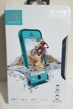NEW Open LifeProof Fre Series Waterproof Case for iPhone 5 / 5S / SE - Teal Blue