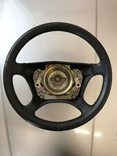Mercedes 202 C Class Bkack Leather Steering Wheel 190e 124 210 Etc E36