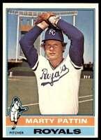 1976 Topps Baseball Nm-Mt Marty Pattin Kansas City Royals #492