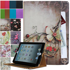 For New iPad 6th 5th Gen & iPad Air Leather Smart Case Cover Stand Wallet Pocket