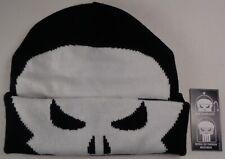 Beanie Winter Hat Cap Licensed Marvel Comics Punisher Flip Down CC