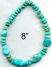 TURQUOISE  CAMPITOS Mine BEADS~Deep Blue 100% Natural Color 5-16mm Tucson 2020