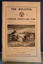 The Bulletin of the Vintage Sports Car Club Winter 1963 No 80 Prescott Hill