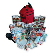 2 Week Deluxe Emergency Survival First Aid Bag Kit w/ Food & Water for 1 Person