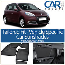 Renault Scenic 5dr 2009 On CAR WINDOW SUN SHADE BABY SEAT CHILD BOOSTER BLIND UV