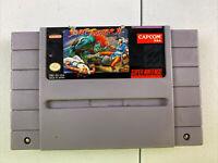 Street Fighter II 2 Super Nintendo SNES Original Authentic Video Game