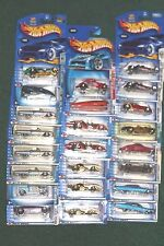 23 Hot Wheels Die Cast Car Collection Lot First Editions Unopened Carded 2003