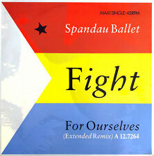 """Spandau Ballet 12"""" Fight For Ourselves (Extended Remix) - Holland (VG+/M)"""