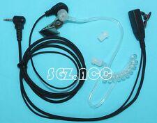 Covert tube PTT Headset/Earpiece Motorola Talkabout Walkie Talkie 2.5mm 1-Pin US