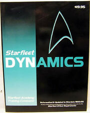 1993 Starfleet Dynamics- Star Trek Technical Manual/Book- 190+ Pages- FREE S&H
