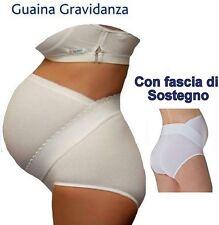 GUAINA FASCIA GESTANTE con fascia di sostegno. marca Gios tg 3