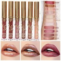 Long Lasting Waterproof Lipstick Matte Pencil Liquid Lip Gloss Makeup Cosmetics