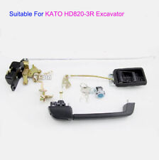 Cab Door Lock Assembly Fit For Kato HD820-3R Excavator