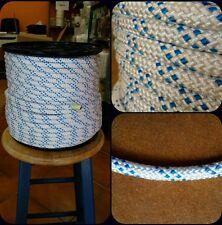 Corde driza cordage nylon haute ténacité 10mm x 100 mètres fonds amarrage