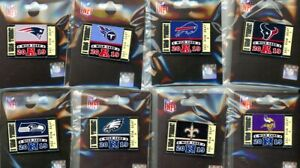 """2019 2020 NFL Wild Card """"I Was There!"""" Ticket Pin Choice Super Bowl 54 LIV"""