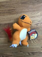 Official Licensed Pokemon Charmander Plush Stuffed Doll Toy Gift Kids Authentic