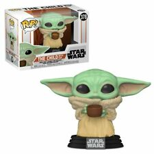 Funko POP! Star Wars The Mandalorian - Child with Cup