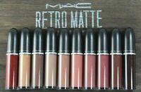 MAC Retro Matte Liquid Lipcolour -Full Size New In Box - Choose Your Shade -
