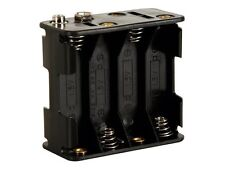 BH383B BATTERY HOLDER FOR 8 x AA-CELL (WITH SNAP TERMINALS)