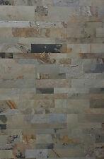 briques en pierre naturelle Autoadhésif 30x60cm Macédoine Schistes brique murale