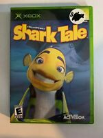 SHARK TALE - XBOX - COMPLETE WITH MANUAL - FREE S/H - (T9)