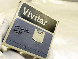 Vivitar 55mm Polarizing Polar PL Camera Lens Filter