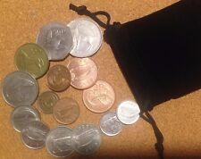 Ireland - Bag 15 Irish Decimal Coins Set Half Penny to Pound