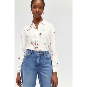 Warehouse Floral Shirt  RRP:£37.99 UK 10