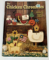 The Chicken Chronicles Hatched By Margaret Wilburn Tole Painting Book Holiday