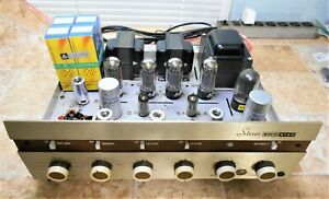 EICO ST40 Stereo Tube Amplifier Amp Audiophile Classic Vintage Made in USA ♫♫♫♫♫