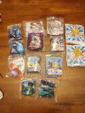 LOT OF 13 SEALED Burger King Toys.  Rugrats, Simpsons, Pokemon, SpongeBob...