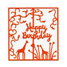 Happy Birthday Frame Metal Cutting Dies Stencils Paper Cards Making Embossing