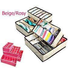 Unterwäsche Socken Krawatten Dessous Aufbewahrungsboxen Organizer Box Beige Rosy