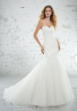 Mori Lee 6886 Size 24 GENUINE Wedding Dress Ivory With Tags