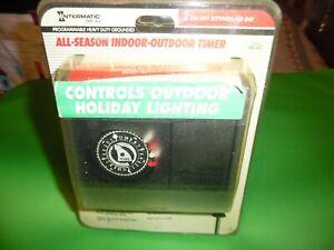 Intermatic All Season Indoor Outdoor Timer # HB11RC 15 amp. HEAVY DUTY NOS