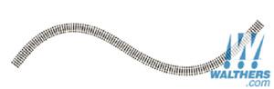 """36"""" Code 83 (5) Pieces of HO Super-Flex Track w/ Brown Ties - Atlas #500 vmf121"""