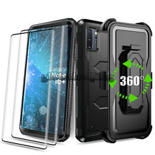 For Samsung Galaxy Note 10 10+ Plus Case Stand Belt Clip With Screen Protector