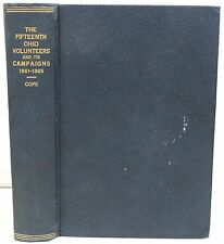 The Fifteenth Ohio Volunteers and Its Campaigns: War of 1861-1865 by Cope ~ 1916